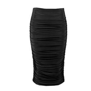Boohoo Skirts - Ruched midi skirt